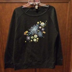 Stitched in the Stars Graphic Sweatshirt Sz 2XL